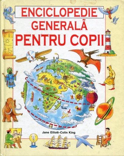 Jane Elliott, Colin King - Enciclopedie generala pentru copii