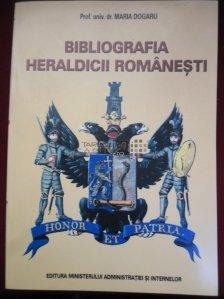 Bibliografia heraldicii romanesti