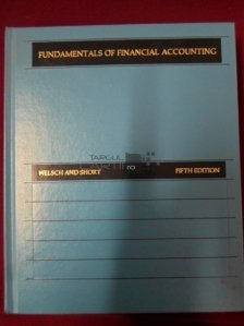 Fundamentals of Financial Accounting / Fundamentele contabilitatii financiare