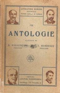 Antologie pentru clasa a III-a