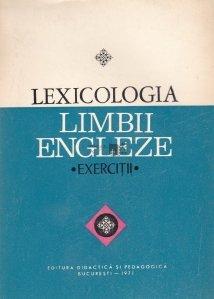 Lexicologia limbii engleze
