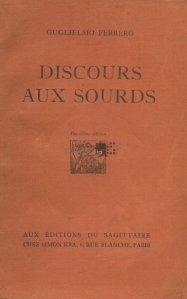 Discours aux sourds / Discurs surzilor