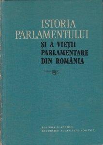 Istoria parlamentului si a vietii parlamentare din Romania pina la 1918