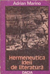 Hermeneutica ideii de literatura