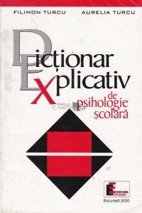 Dictionar explicativ de psihologie scolara