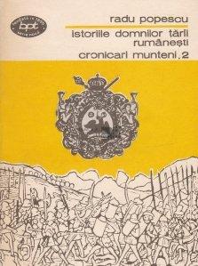 Istoriile domnilor Tarii Rumanesti