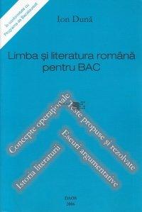 Limba si literatura romana pentru BAC