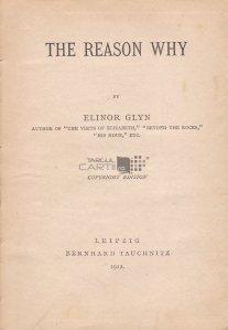 The Reason Why / Motivul pentru care