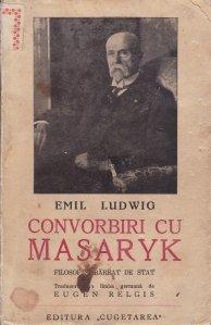 Convorbiri cu Masaryk