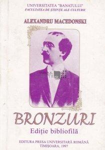 Alexandru Macedonski. Bronzuri. Poezii