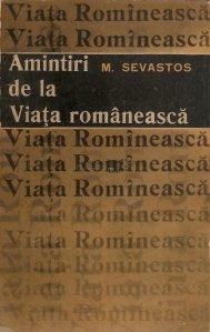 """Amintiri de la """"Viata Romaneasca"""""""