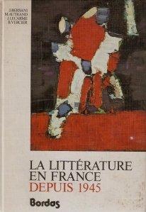 Al litterature en france depui 1945 / Literatura Franceza dupa 1945