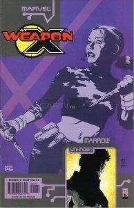 Weapon X: the Draft - Marrow