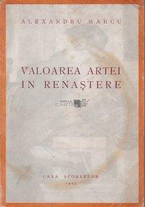 Valoarea artei In Renastere