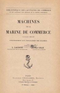 Machines de la marine de commerce