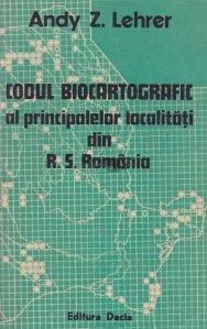 Codul biocartografic al principalelor localitati din R.S. Romania