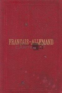 Nouveau dictionnaire de poche francais et allemand