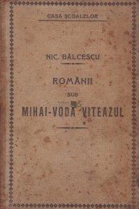 Romanii sub Mihai-Voda Viteazul