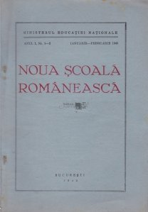 Noua scoala romaneasca