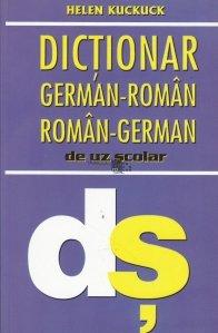 Dictionar german-roman, roman-german de uz scolar