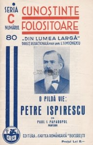 O pilda vie: Petre Ispirescu