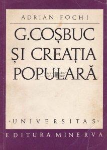 G. Cosbuc si creatia populara
