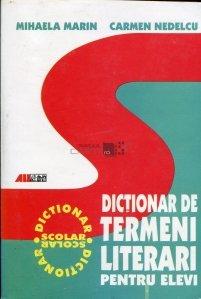 Dictionar de termeni literari pentru elevi