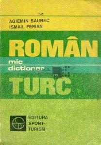 Mic dictionar roman-turc
