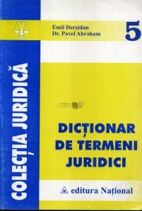 Dictionar de termeni juridici