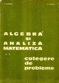 Algebra si analiza matematica
