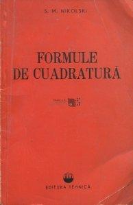 Formule de cuadratura