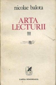 Arta lecturii