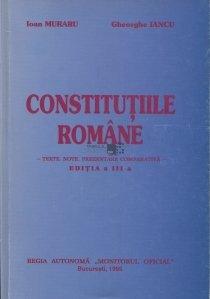Constitutiile romane