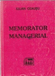 Memorator managerial