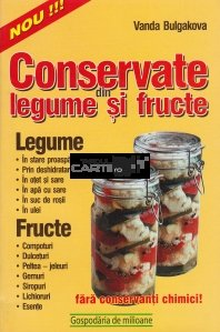 Conservate din legume si fructe