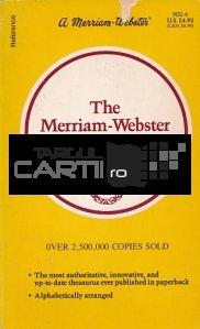 The Merriam-Webster Thesaurus / Tezaurul Merriam-Webster