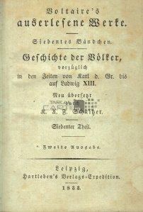 Geschichte der volker / Istoria Poporului