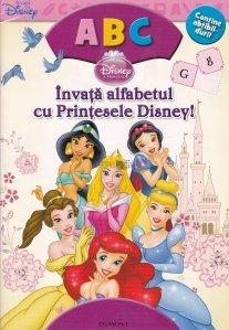 Invata alfabetul cu Printesele Disney!