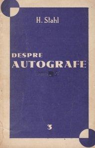 Despre autografe