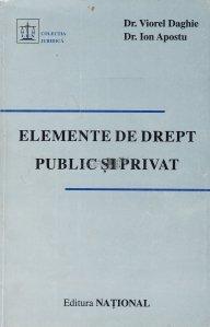 Elemente de drept public si privat