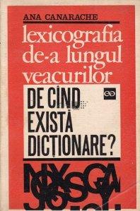 Lexicografia de-a lungul veacurilor