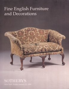 Fine english furniture and decorations