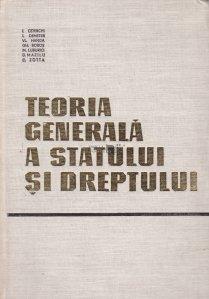 Teoria generala a statului si dreptului