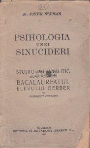 Psihologia unei sinucideri