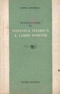Introducere in fonetica istorica a limbii romane