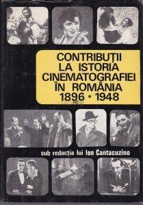 Contributii la istoria cinematografiei in Romania