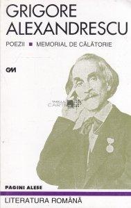 Poezii. Memorial de calatorie