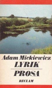 Lyrik. Prosa / Lirica. Proza