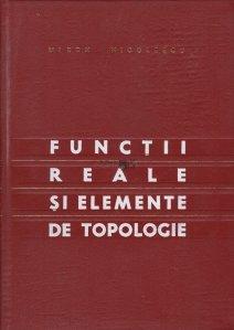 Functii reale si elemente de topologie