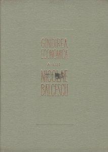 Gindirea economica a lui Nicolae Balcescu